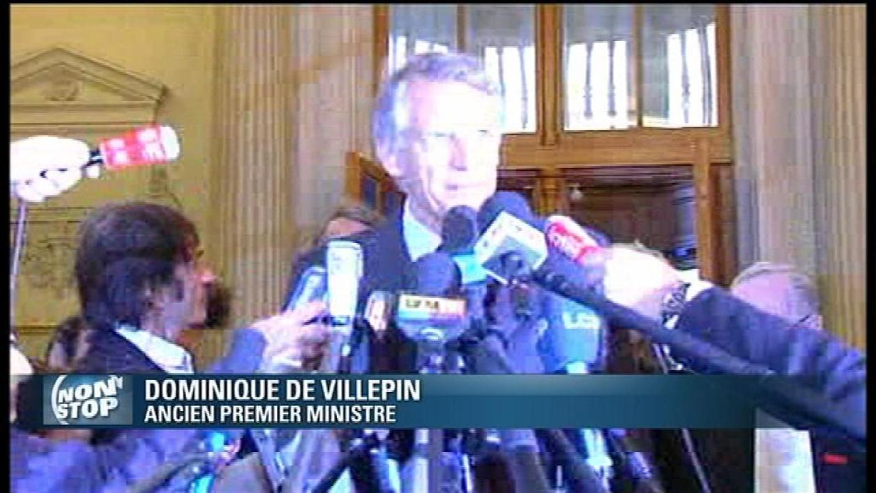 Affaire Clearstream : Villepin relaxé en appel