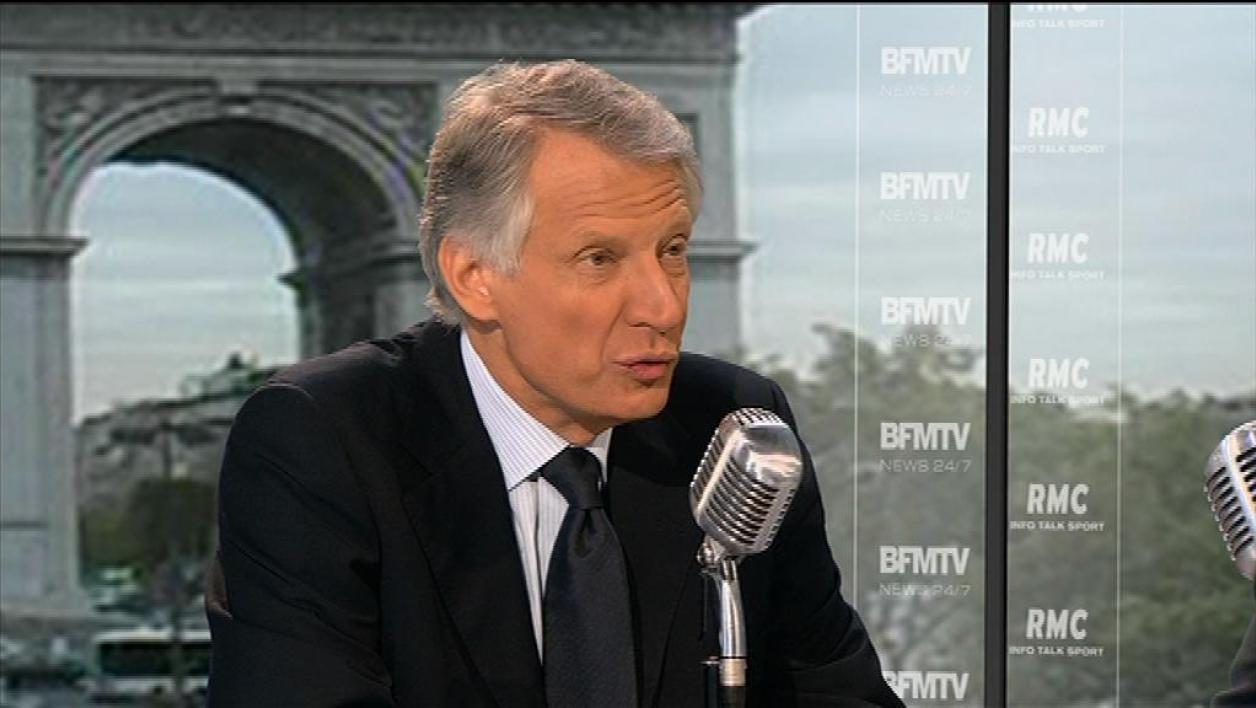 Villepin veut un gouvernement d'union nationale