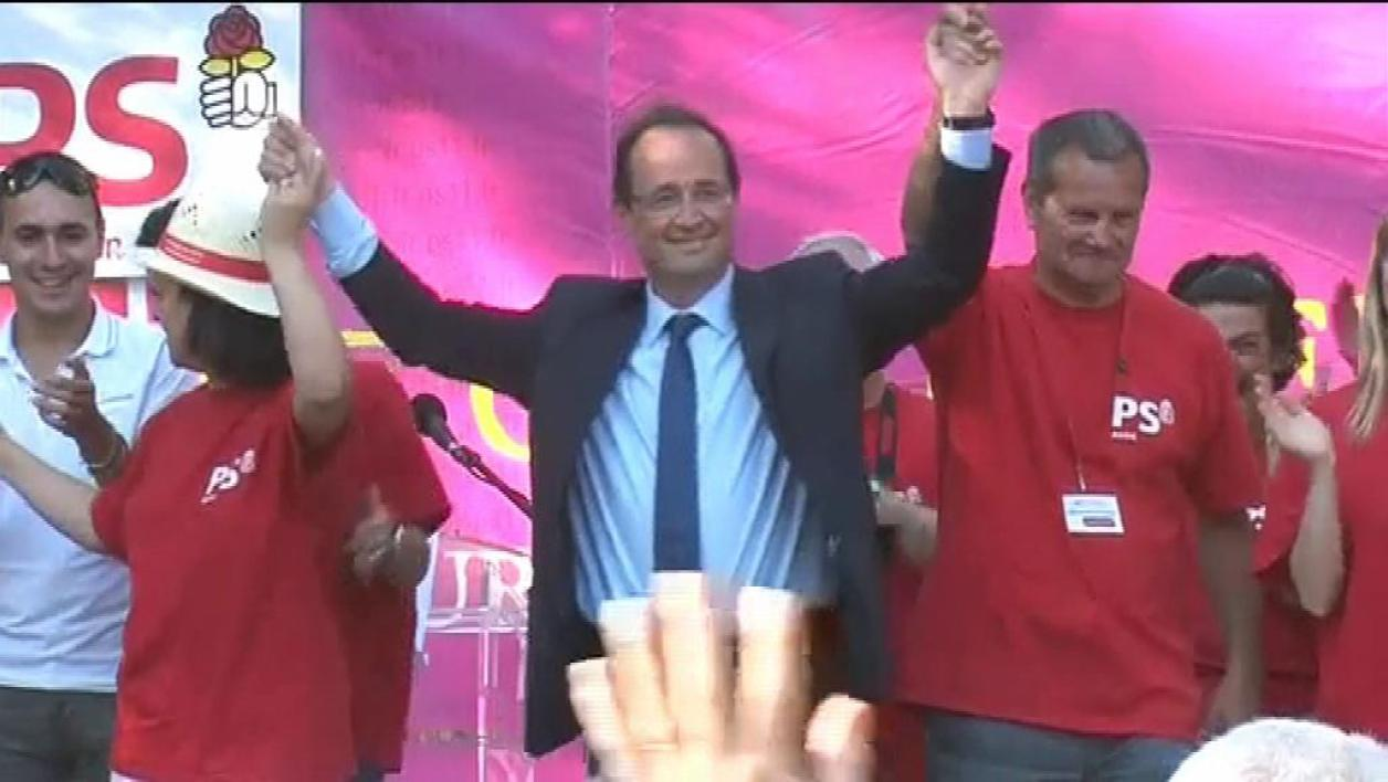 La Course 2012 BFMTV : Hollande favori