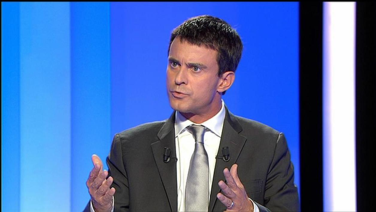 Valls tacle Montebourg sur l'Europe