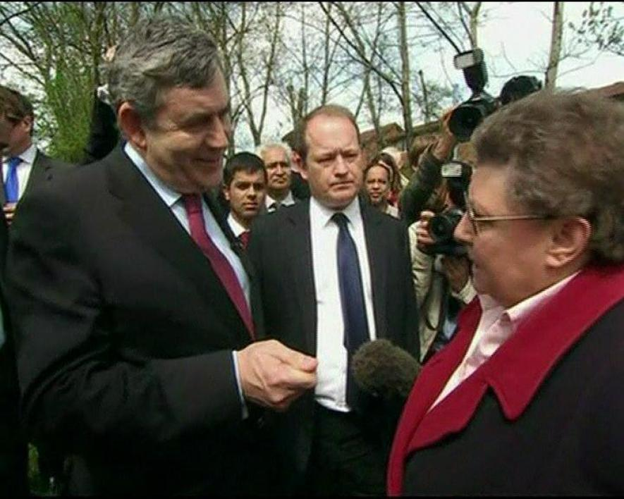 La campagne chaotique de Gordon Brown