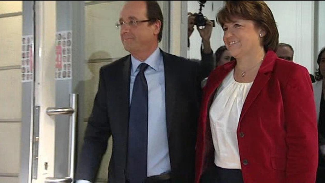 Primaire PS : Hollande-Aubry, l'union sacrée