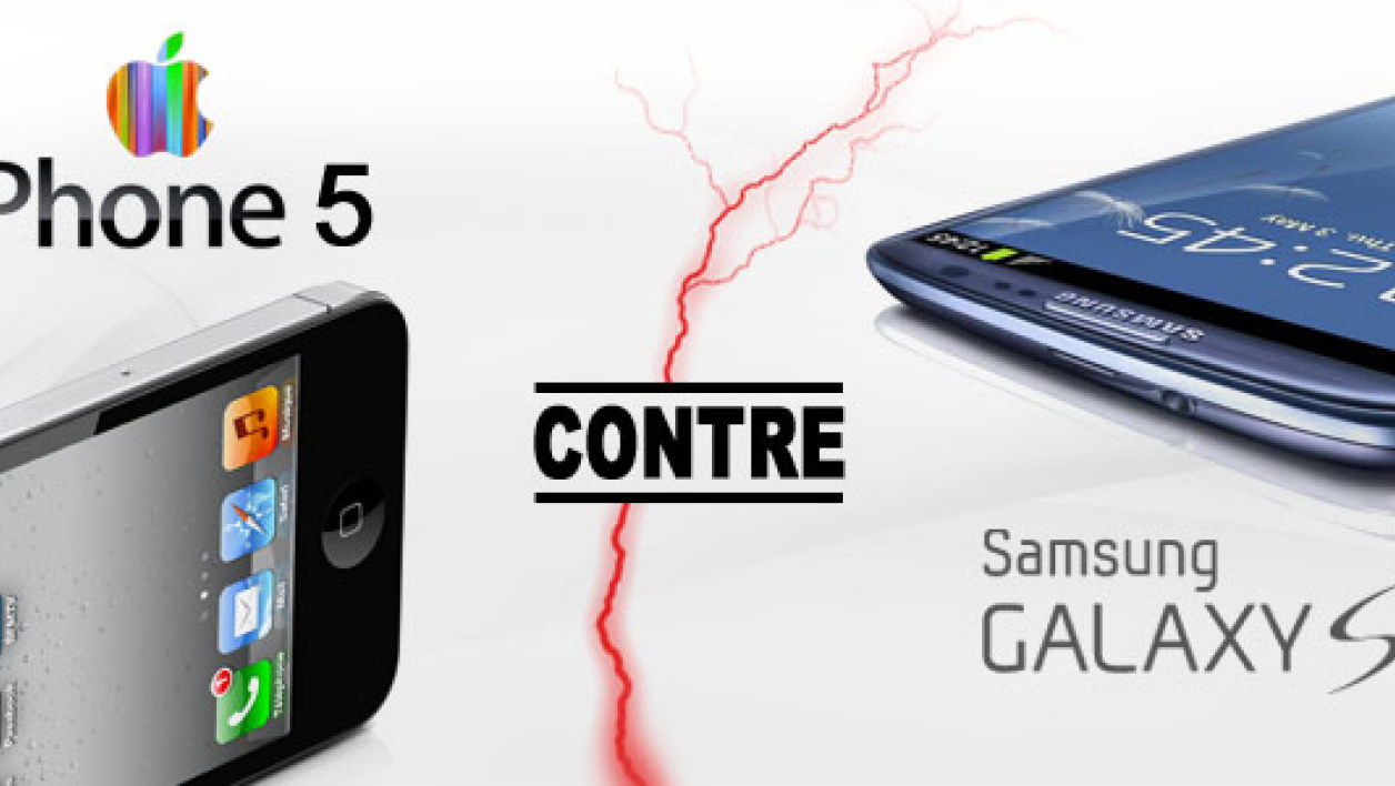 iPhone 5 vs Samsung Galaxy SIII : le match