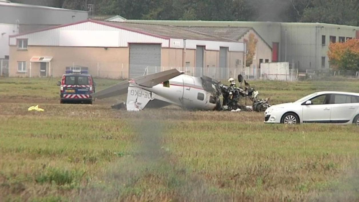 3 morts dans un accident d'avion à Toulouse