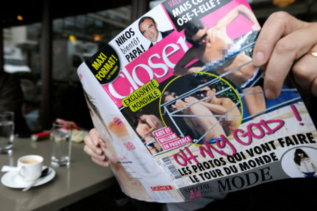 Le magazine Closer a été condamné mardi 18 septembre.