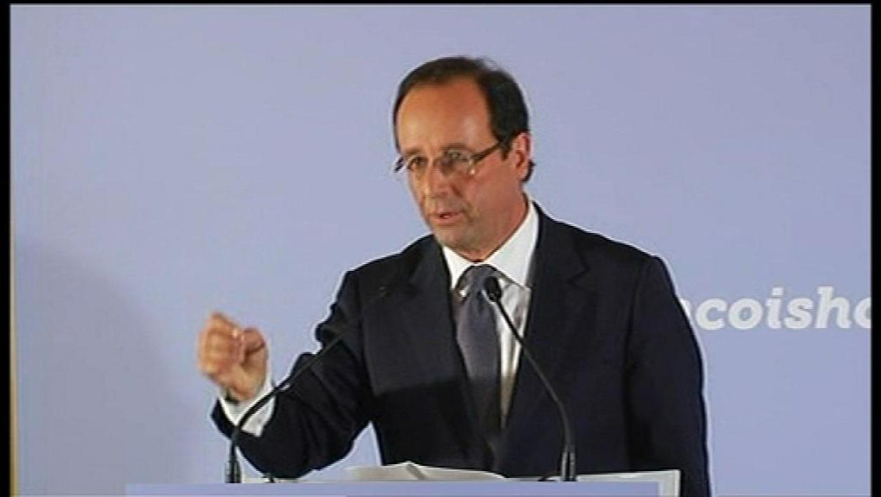 Hollande donne ses solutions à la crise