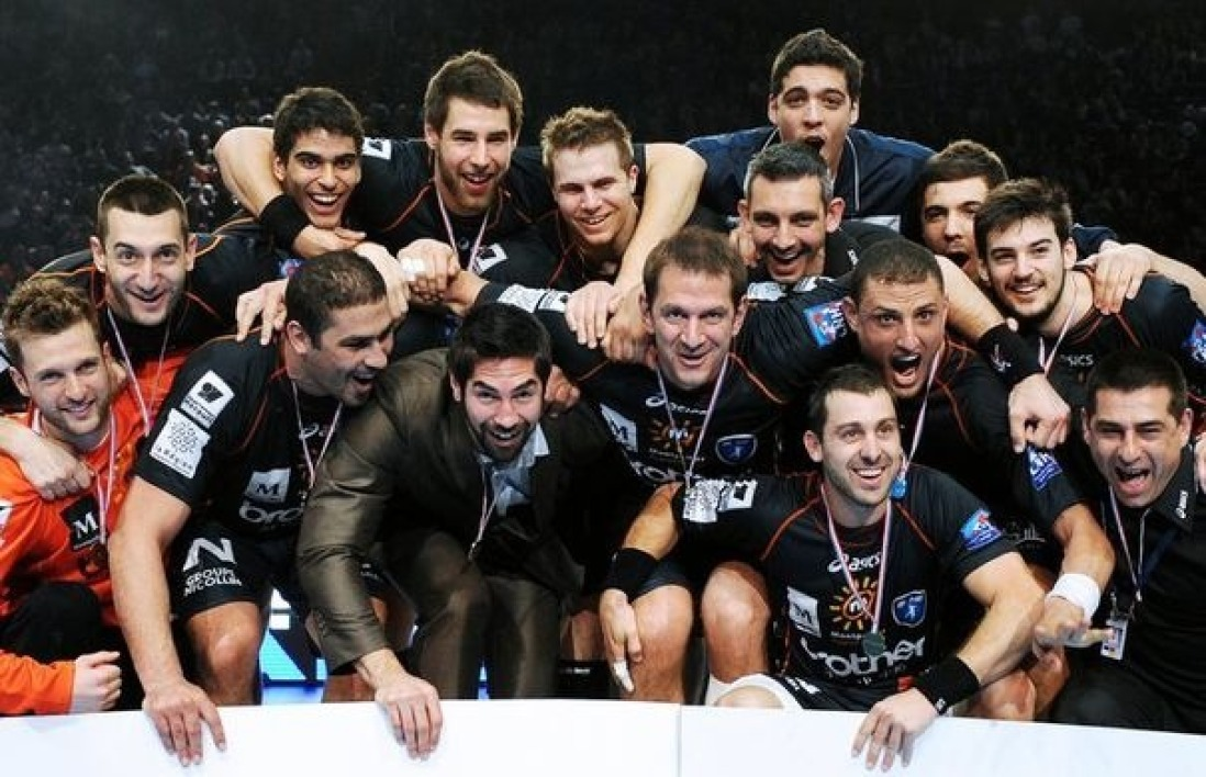 Montpellier, champion de France de handball 2012