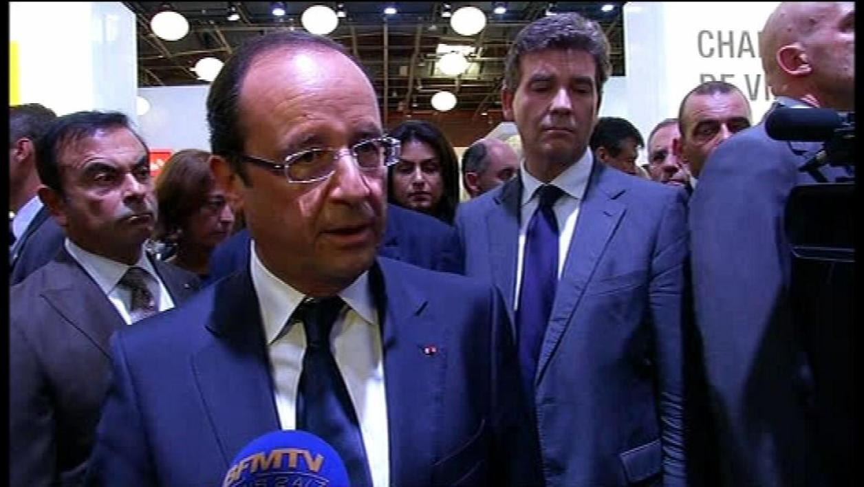 Hollande s'engage sur la dette