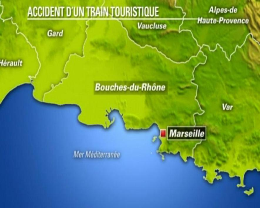 Accident de train à Marseille : 2 blessés graves