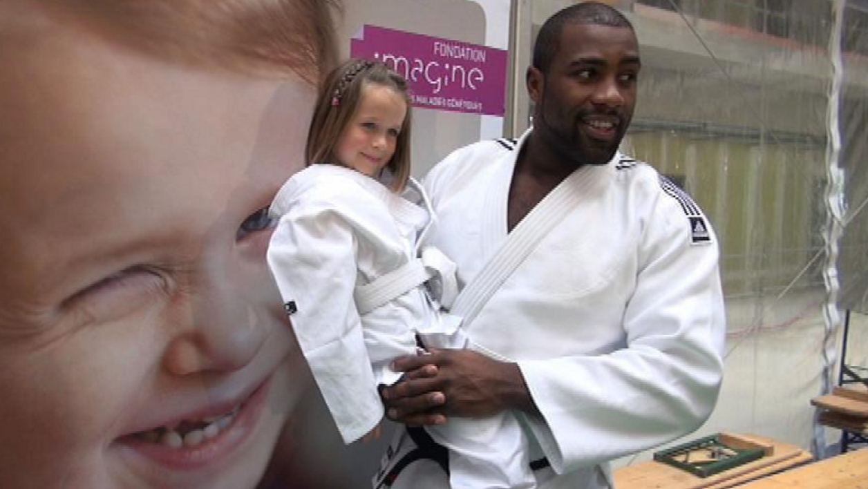 les maladies g n tiques des enfants le nouveau combat de teddy riner. Black Bedroom Furniture Sets. Home Design Ideas