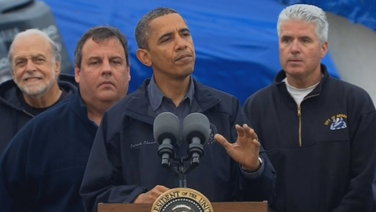 "Sandy : Obama promet un soutien sur ""le long terme"""