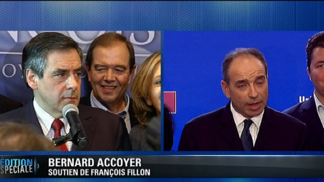 Bernard Accoyer soutient François Fillon.