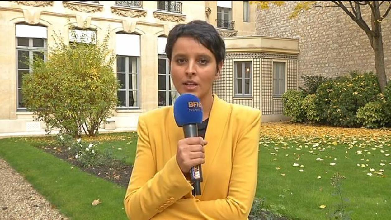 Najat Vallaud-Belkacem envoie un message d'optimisme à l'UMP