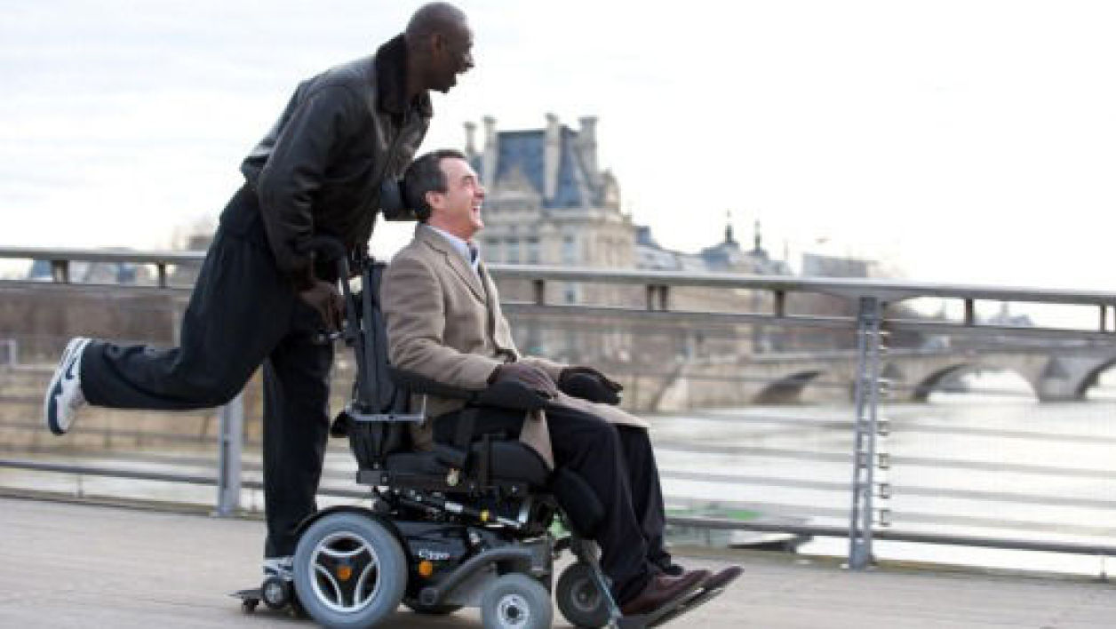 "Capture d'écran du film ""Intouchables""."