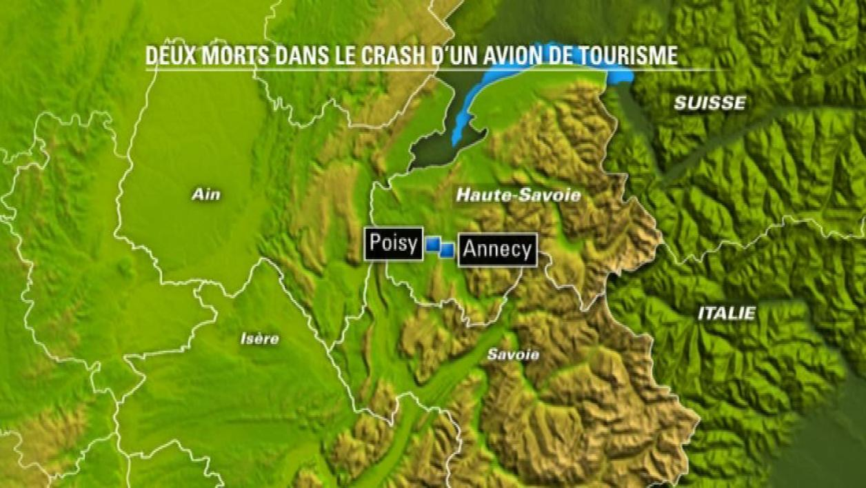 2 morts dans le crash d'un avion de tourisme
