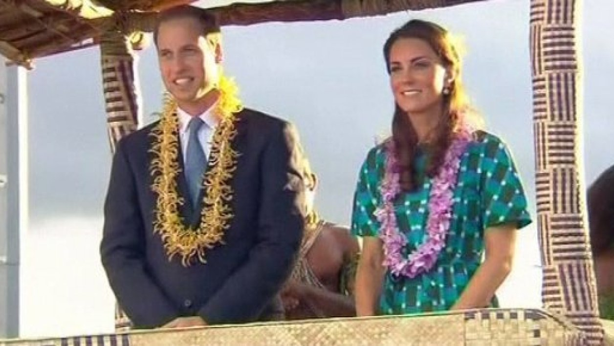 Le prince William et son épouse Kate Middleton.