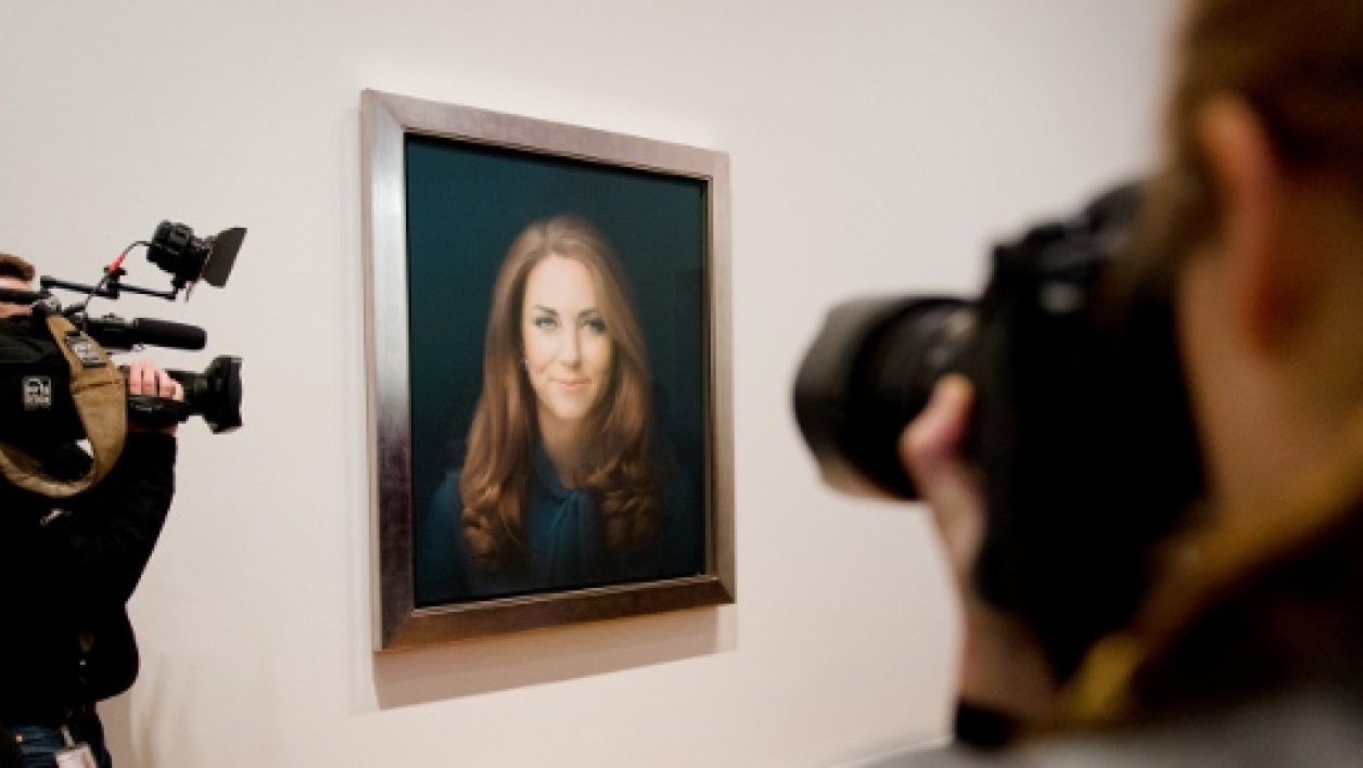 Le portrait de Kate Middleton à la National Portrait Gallery