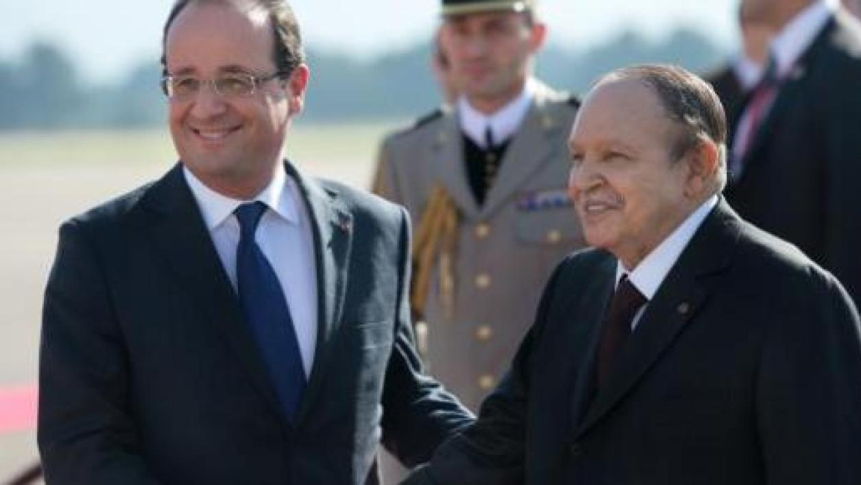 rencontre hollande bouteflika