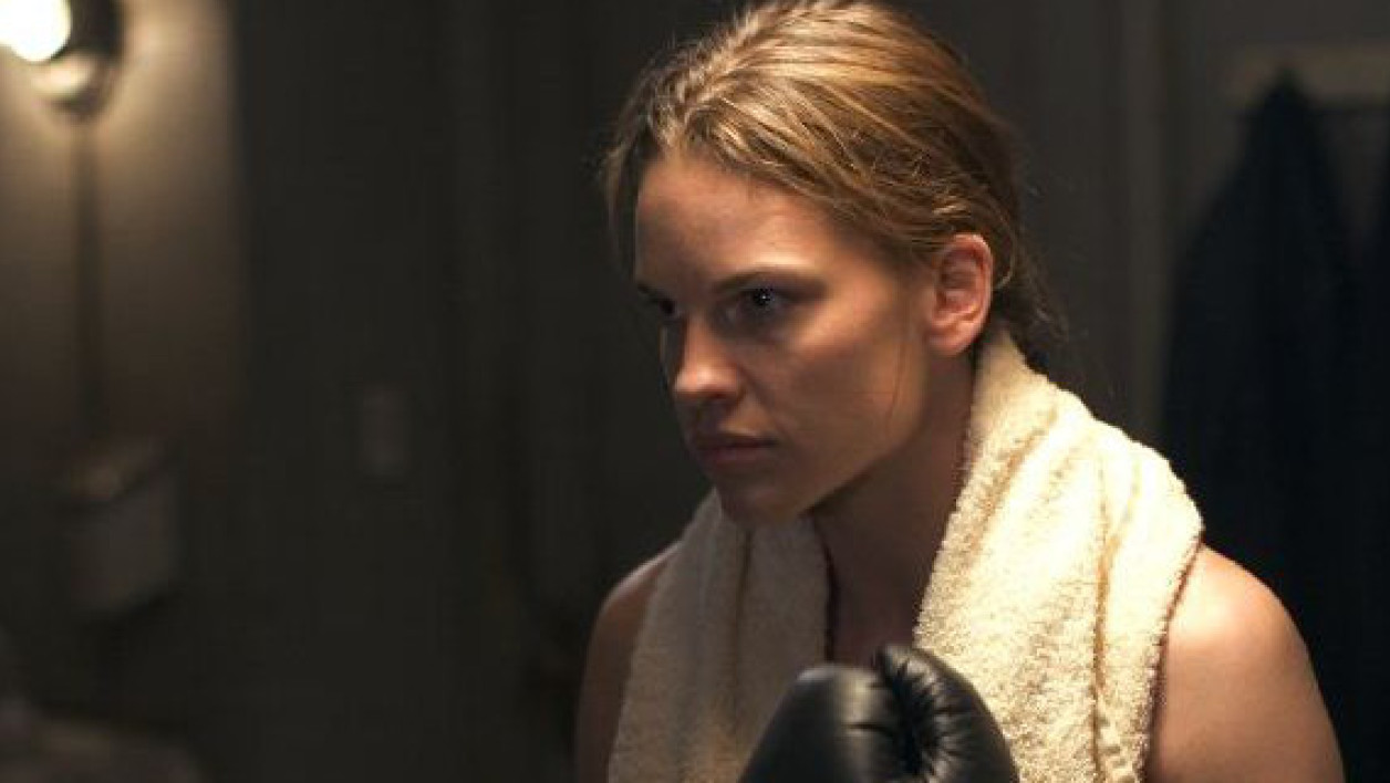 "Hilary Swank dans le film ""Million Dollar Baby"""