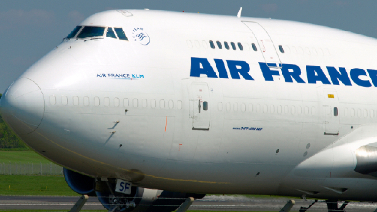 Un avion de la compagnie Air France