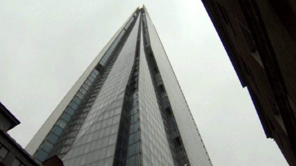 Shard, le plus haut gratte-ciel d'Europe dévoile son point de vue