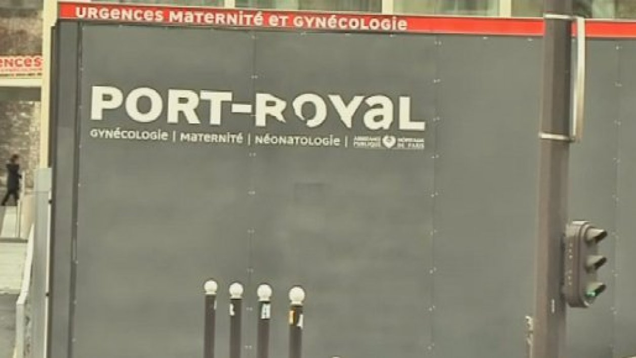 Le service des urgences de la maternité de Port-Royal à Paris.