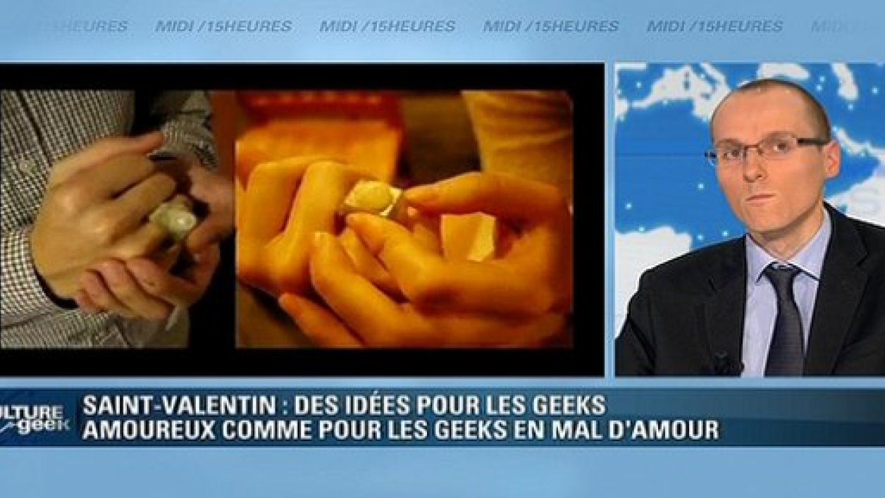 Culture Geek : une Saint-Valentin geek
