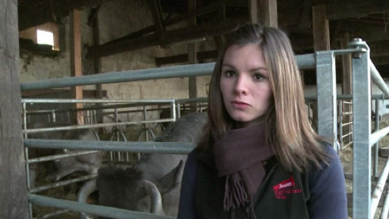 Agriculteur rencontre agricultrice