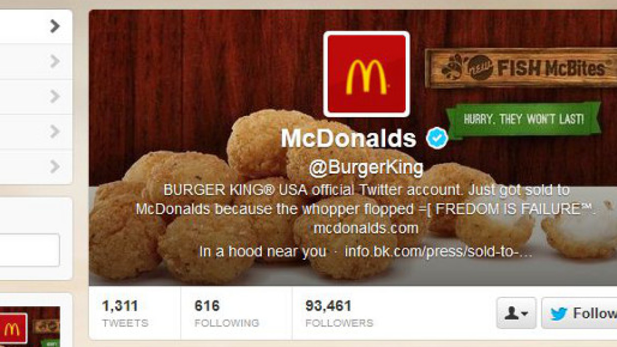 Burger King victime du groupe de hackers LulzSec.