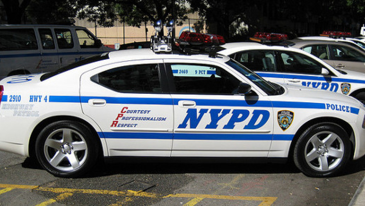 Voiture de la police de New York (image d'illustration).