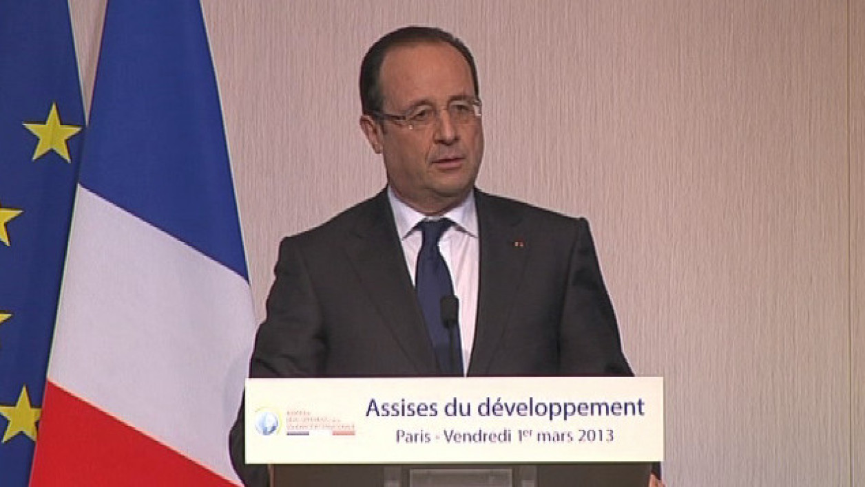 François Hollande le 1er mars 2013, à Paris.