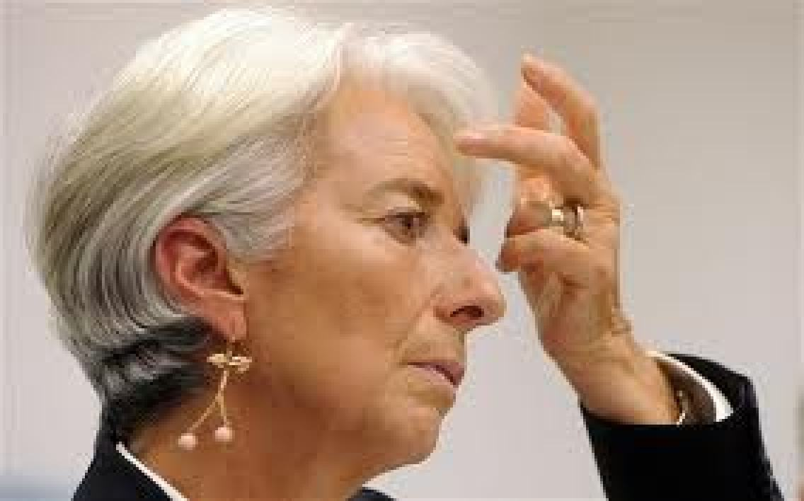 Christine Lagarde, directrice du Fonds monétaire international.