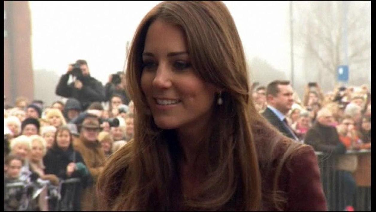 Kate Middleton en visite officielle à Grimsby