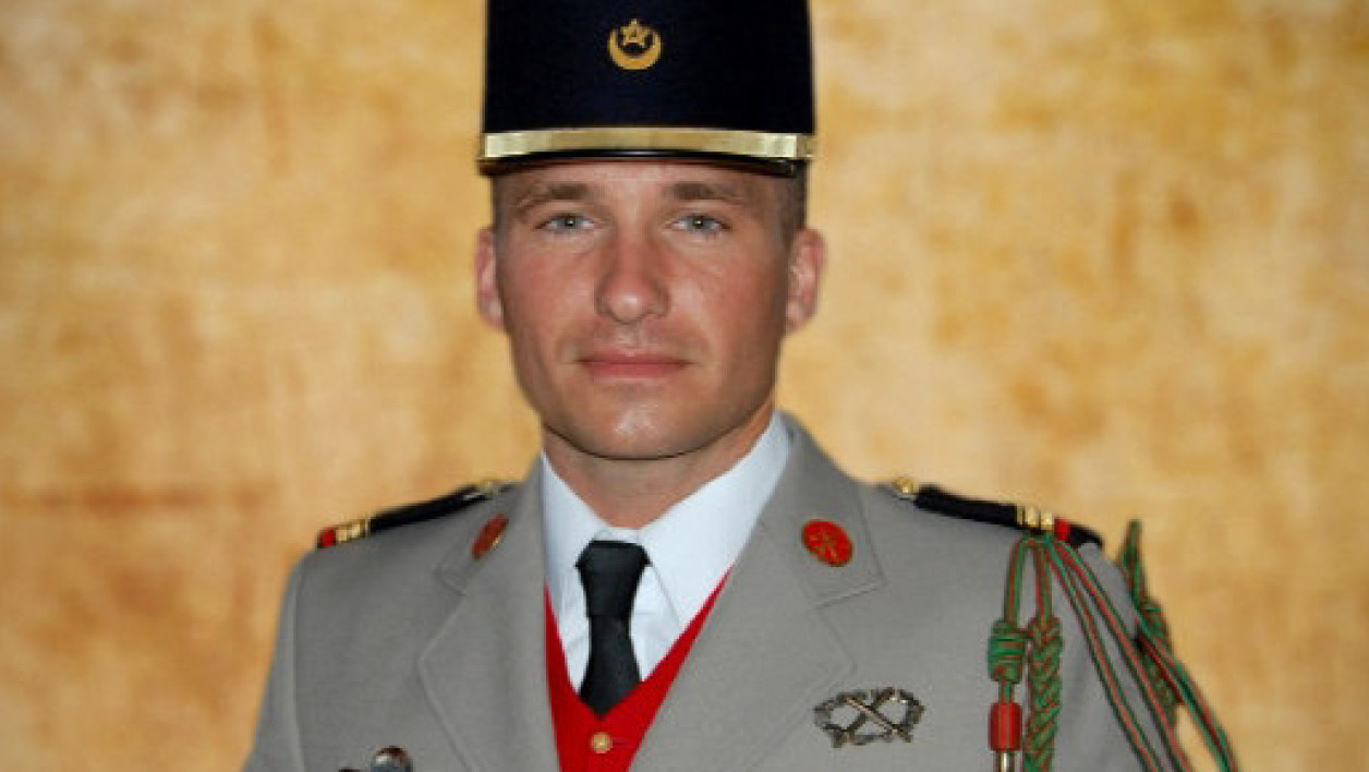 Le brigadier-chef Wilfried Pingaud