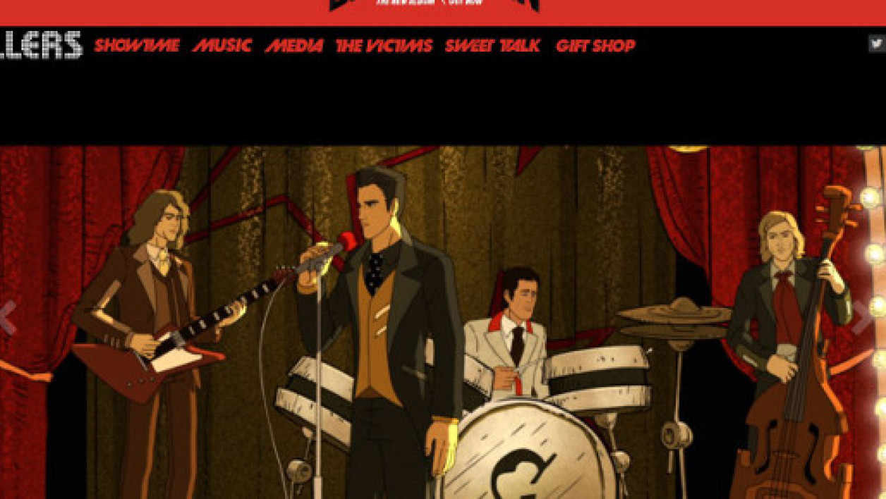 Le site officiel du groupe de rock américain The Killers