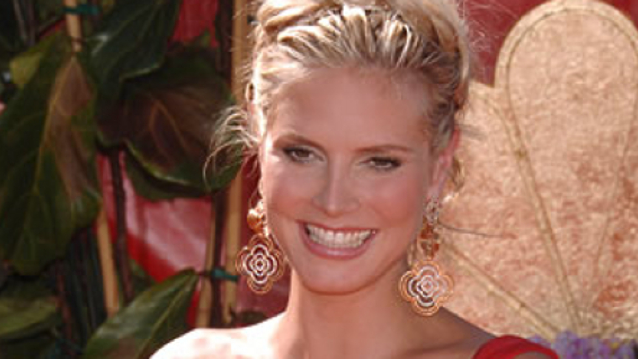 La top model Heidi Klum en octobre 2009.