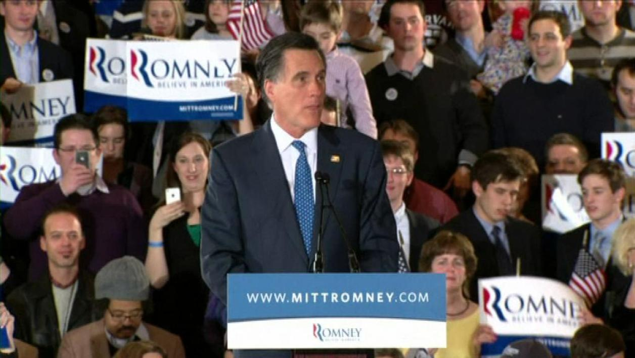 Primaires républicaines : Mitt Romney devant Rick Santorum dans l'Ohio