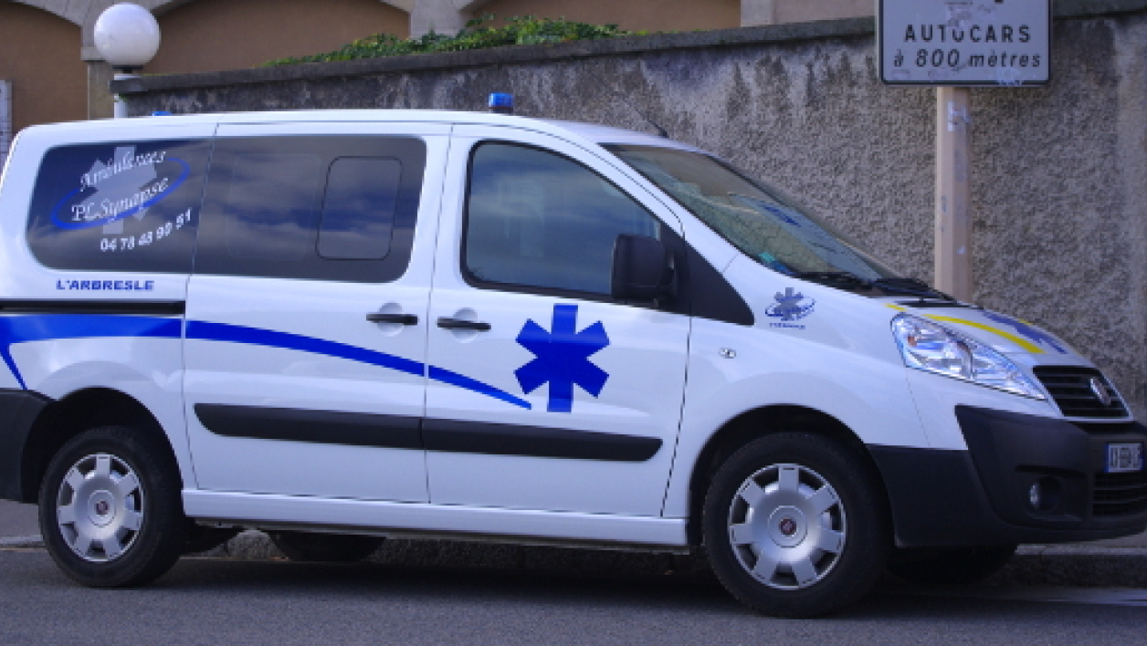 Ambulance à Lyon en décembre 2010 (photo d'illustration).