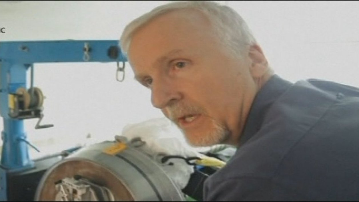 James Cameron explore les abysses
