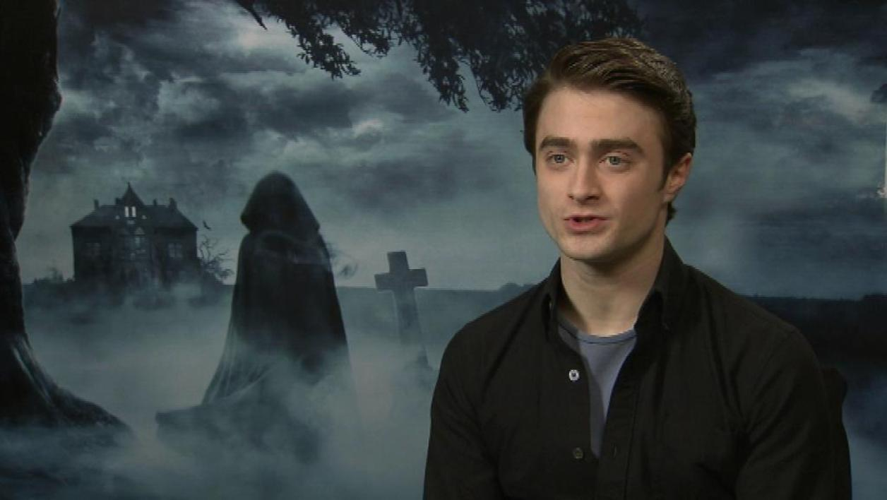 Daniel Radcliffe en promo à Paris, pour un rôle post-Harry Potter
