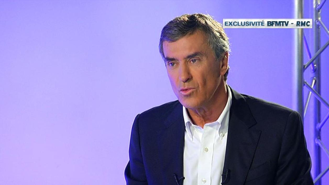 Jérôme Cahuzac sur BFMTV en interview exclusive le 16 avril 2013.