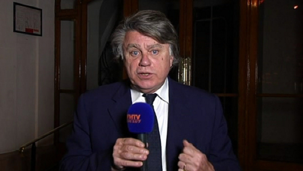 Le député Front national Gilbert Collard.