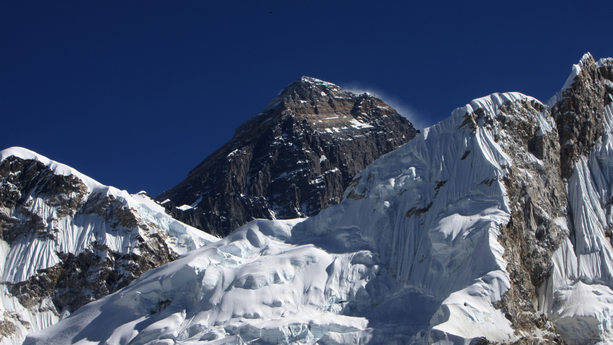 Le mont Everest, en 2009.