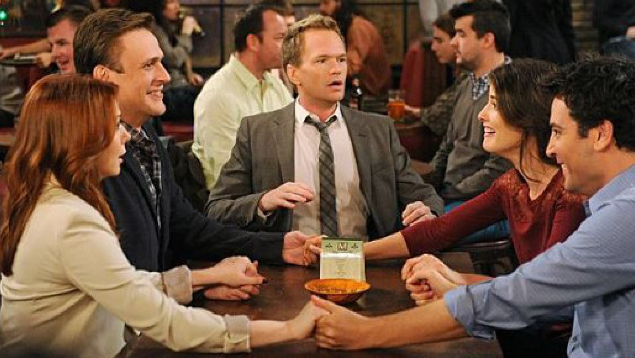 "Le casting de la série ""How i met your mother"", lancée en 2005 sur CBS"