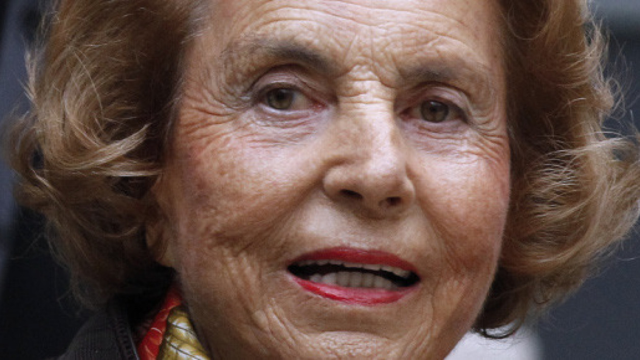 Liliane Bettencourt, en octobre 2011