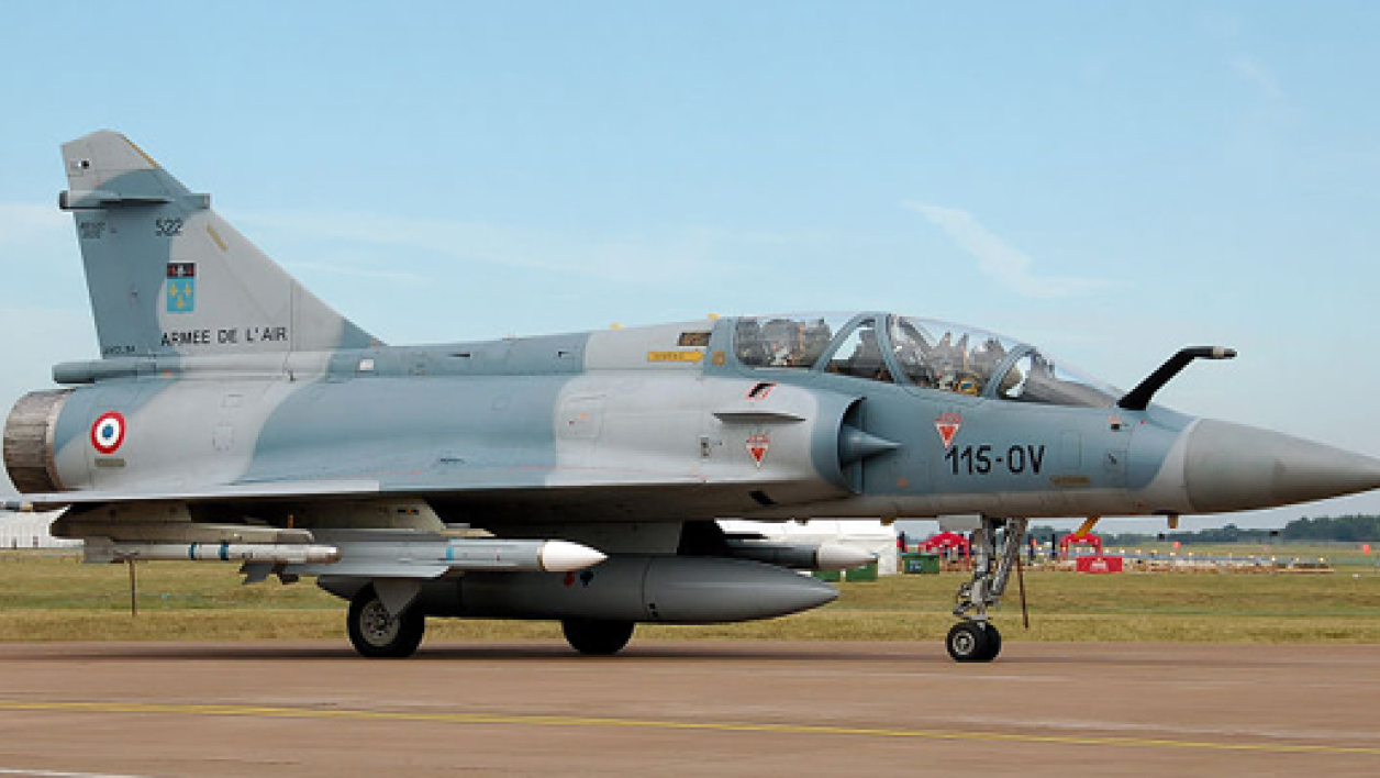 Un mirage 2008 de l'armée de l'air (Photo d'illustration).