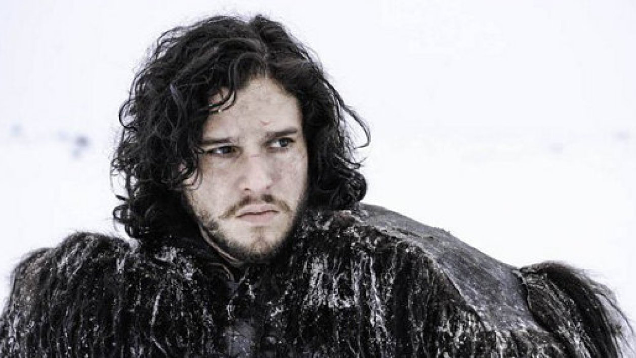 Jon Snow dans la saison 3 de Game of Thrones.