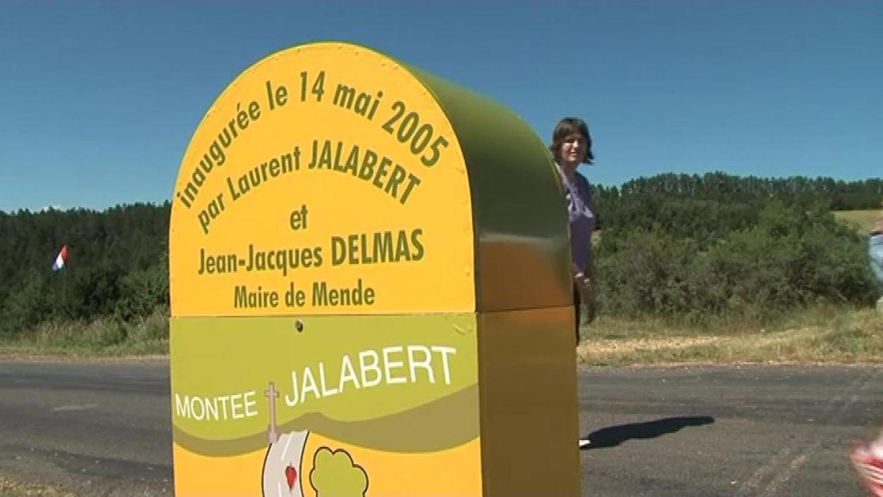 La montée Laurent Jalabert