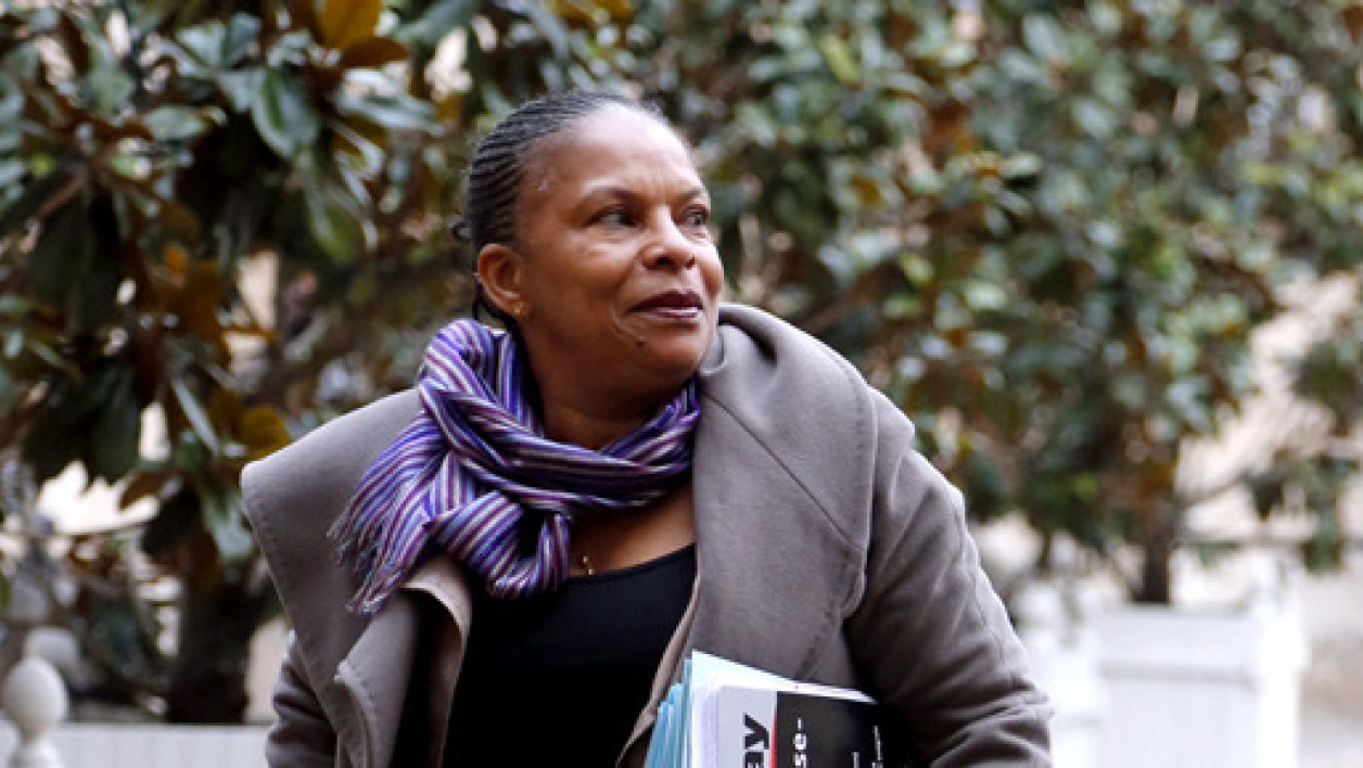 Christiane Taubira remet les points sur les i.