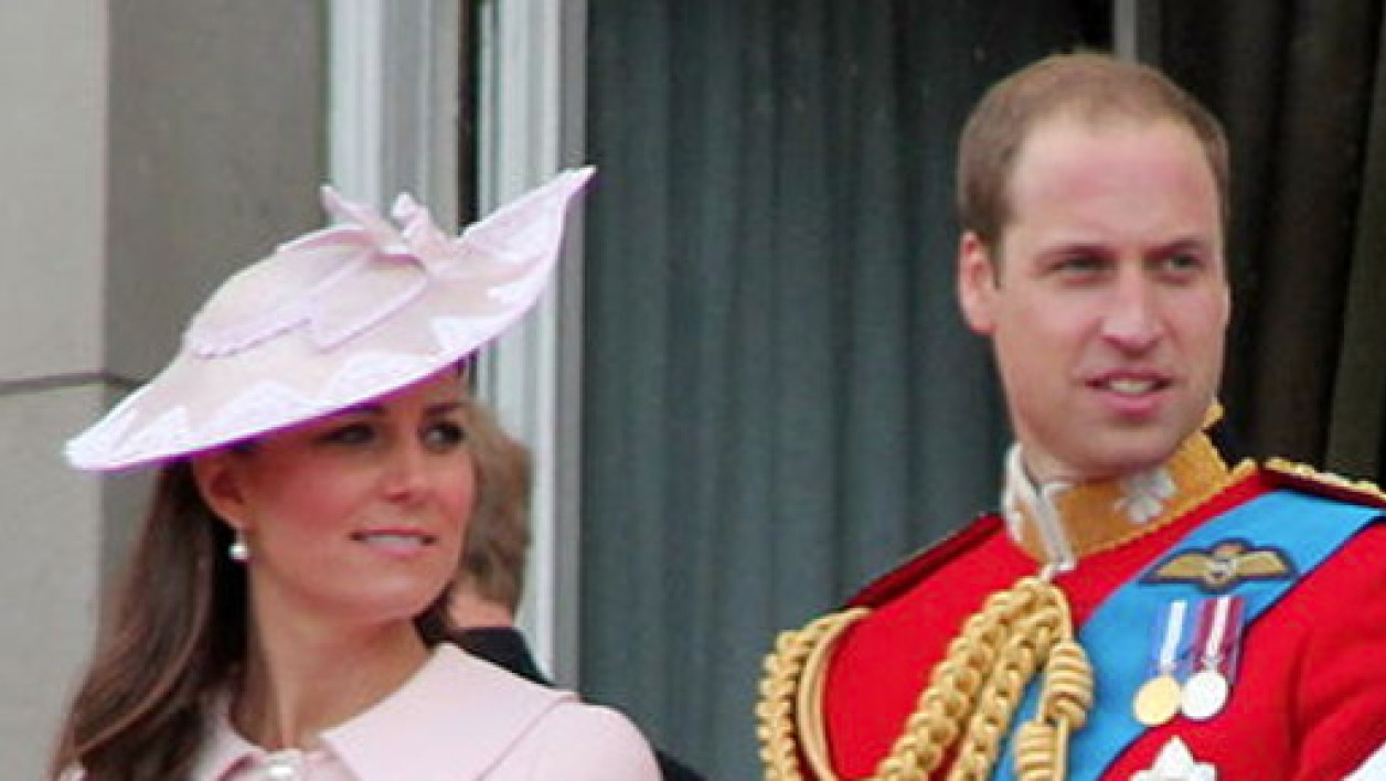 Kate et William, en juin 2013.